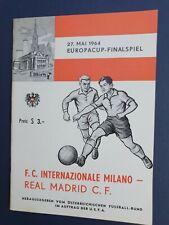 More details for 1964 european cup final - inter milan 🇮🇹 v real madrid 🇪🇦
