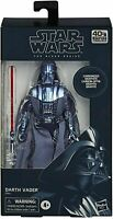 Hasbro Star Wars The Black Series 40th Anniversary Carbonised Darth Vader Figure