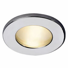 Focos empotrables de iluminación de techo de interior de aluminio color principal plata