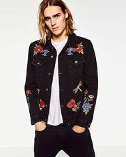 Button Cotton Biker Jackets for Men