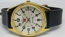 seiko automatic men's gold plated date vintage made japan wrist watch run order