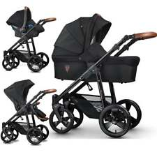 VENICCI 3 IN 1 TRAVEL SYSTEM GUSTO COLLECTION - BLACK BNIB