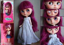 ♥♥♥ Awesome BLYTHE OOAK Muñeca amazing original art doll 2 dresses and box  ♥♥♥