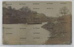 Bristol postcard canal barges river Avon Hanham 1900s used 1911