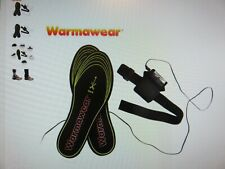 WARMAWEAR Battery Powered Heated Shoe Insoles - SIze UK 5 to 9 - NEW