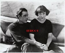 "RUDOLPH VALENTINO & DOROTHY DALTON Old Restrike Photo 1922 ""MORAN LADY LETTY"""