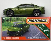MATCH BOX 2019 MBX ROAD TRIP '18 DODGE CHARGER #19/20