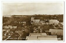 Hampshire General View Of Basingstoke Real Photo Vintage Postcard 19.2