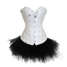 Halloween Outfit Lace Up Basque Corset and Tutu/Skirt Sets -Party Costume S-2XL