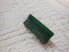 bouton ancien BICoLORE verte forme originale collection D15S