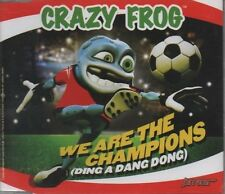 CRAZY FROG We are the Champions 5 TRACK CD  NEW - NOT SEALED