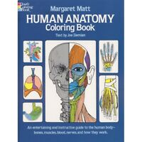 Human Anatomy Coloring Book by Dover  - Human Anatomy
