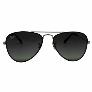Ray-Ban Junior Aviator RJ9506S 271/11 50 Kids Sunglasses Grey Gradient Lens