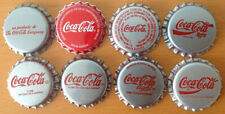 *S* SET OF 8 COCA-COLA BOTTLE CAPS FROM VENEZUELA ----UNPRESSED----