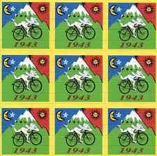 Albert Hofmann bike ride 1943-tipo Blotter-Psychedelic Goa acid artwork