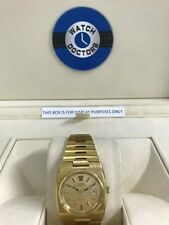 Gents 1974 Gold Plate Omega Megaquartz Geneve Watch (413)
