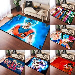 Dragon Ball Z Fluffy Rugs Large Shaggy Rug Soft Mat Living Room Bedroom Carpet