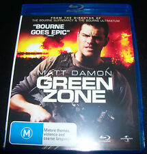 Green Zone (Matt Damon) All region Blu-ray - Like New