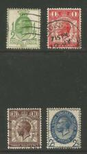 Great Britain 1929 9th Upu Congress/King George V (205-08) used