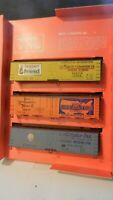 Train Miniature HO Ltd Run Triple Billboard Reefers Kit, NIB Lot 2
