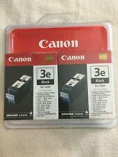 Canon BCI 3eBK TWIN Pack BLACK Ink - printer Pixma IP 5000 4000 3000 MP 780 750
