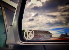 VW TRANSPORTER T6 Mirror Glass sticker, side window sticker camper sportline