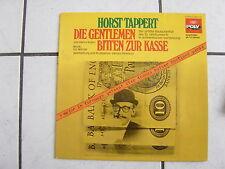 Horst Tappert-Die Gentleman bitten zur Kasse -  Hörspiel LP - -Poly