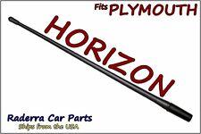 "FITS: 1985-1990 Plymouth Horizon - 13"" SHORT Custom Flexible Rubber Antenna Mast"