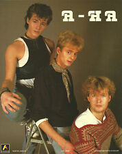 A-HA+AHA+ORIGINAL & OFFICIAL PROMO PHOTO 1986=100% GENUINE+EXPRESS GLOBAL SHIP