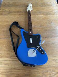 Fender Jaguar Blue Wireless Guitar for PlayStation 4 PS4 - Rock Band 4 - TESTED