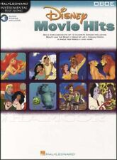 Disney Movie Hits Oboe Instrumental Play-Along Sheet Music Book with Audio