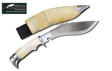 "10"" American Eagle,Bone Handle-kukri,gurkha, khukuri,knife,machete, by GK&CO."