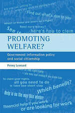Promoting Welfare?: Government Information Policy and Social Citizenship by Leo
