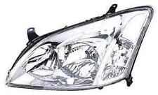 TOYOTA Corolla unità luci anteriori lato passeggero del Proiettore Unità 2002-2004