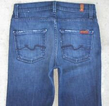 7 for all Mankind Women's High Waist Bootcut jeans USA made Sz 25  L 32