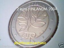 usata used 2 euro 2004 Finlandia finlande Suomi finnland Finland Финляндия 芬兰