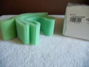 BRIGGS & STRATTON-  4111- BOX OF 3 PRE AIR FILTERS 272490S  -  NEW IN PKG.