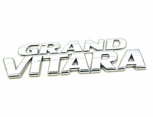 Genuine New SUZUKI GRAND VITARA BADGE Emblem For Side Door or Tailgate 1998-2005