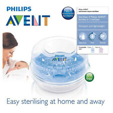 Philips AVENT Microwave Steam Steriliser Fast Easy at Home and Away BPA