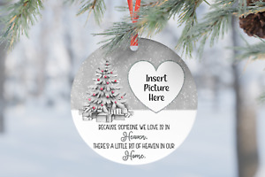 Someone We Love Is In Heaven Dad Christmas Personalised Gift Present Bauble Tree
