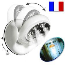 Lampe Détecteur de Mouvement Présence Lumière Led à Piles Projecteur Extérieur