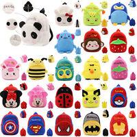 Baby Kids Boy Girl School Bags Lovely Animal Bag Backpack Shoulder Schoolbag