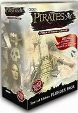 WIZKIDS PIRATES : PIRATES PLUNDER PACK W/ GLOW IN DARK SHIP NEW