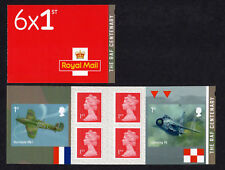 2018 RAF CENTENARY 100 YEARS - STAMP BOOKLET Non Cylinder PM59