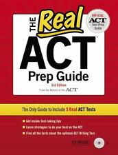 The Real ACT (CD) 3rd Edition (Official Act Prep Guide), ACT, Good Book