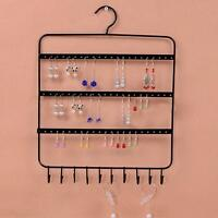 Wall Mounted Metal Hanger Earrings Bracelet Necklace Jewelry Display Holder Rack