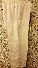 SALE! Liz Clairborne ladies 100% linen pants w/drawstring size 12 only $12.99!