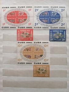 Sellos de Cuba(**) Yvert № 535-549