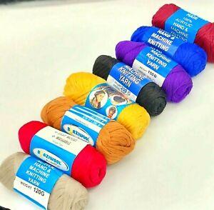 Brazilian Wool Hair Yarn For Braids Twist Cornrow Plaits Faux Locks All Colours