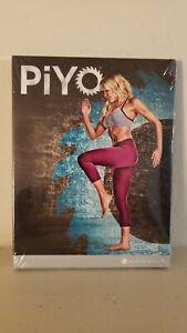 PiYO Chalene Johnson Workout Exercise 3-Disc Set + Bonus DVD Pilates Yoga
